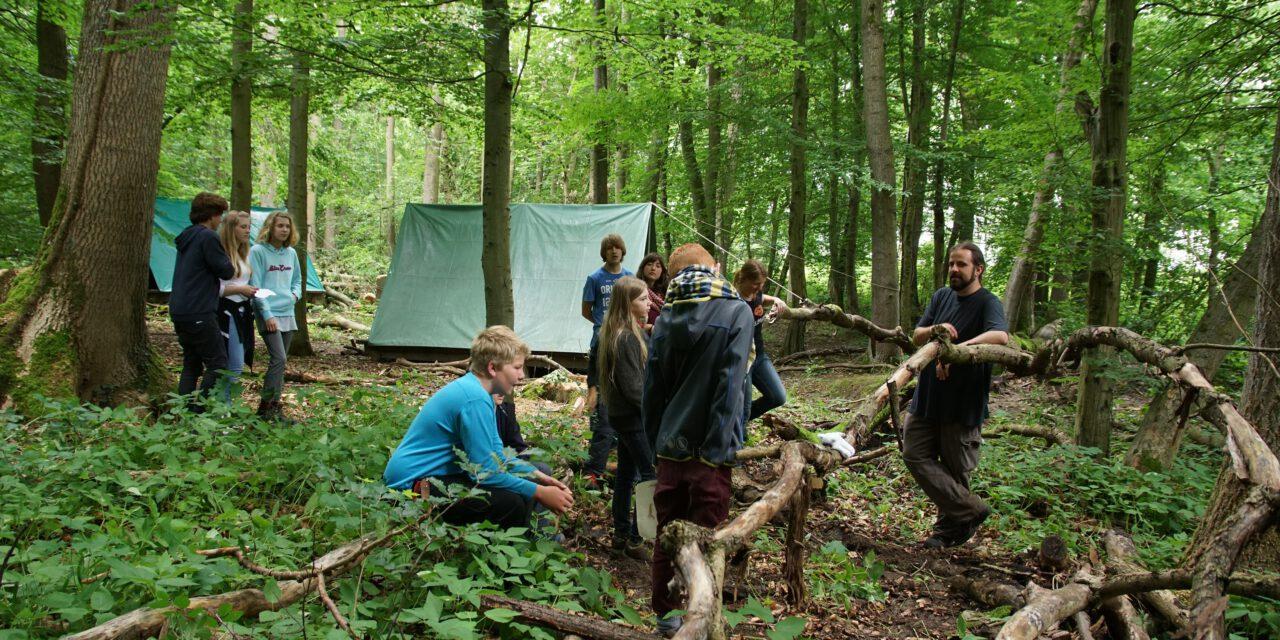 Wildniscamp 2017 im Nationalpark Hainich (Thüringen)