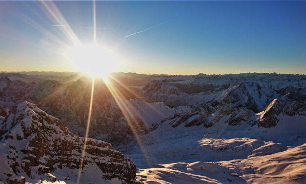 Die Zugspitze im Wettersteingebirge