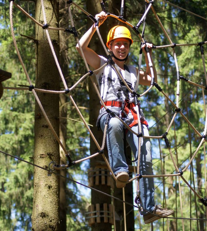 Saisonstart im märchenhaften Waldseilgarten TreeRock Abenteuerpark Hochsolling