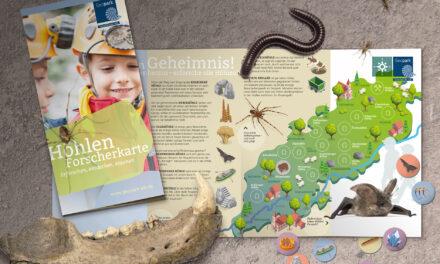 UNESCO-Geopark Schwäbische Alb stellt Höhlen-Forscherkarte für Kinder vor